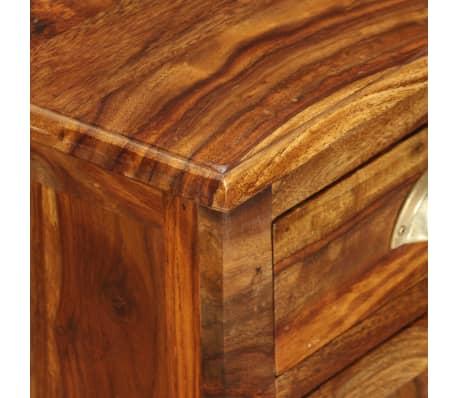 vidaXL Table de chevet Bois massif de Sesham 40 x 30 x 50 cm[6/11]