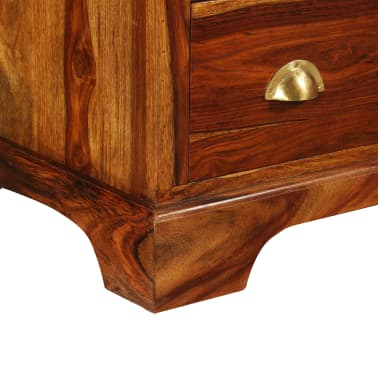 vidaXL Komoda z drewna sheesham, 162 x 40 x 85 cm[4/11]