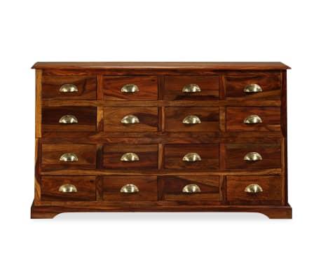 vidaxl kommode 120 30 75 cm massives sheesham holz g nstig kaufen. Black Bedroom Furniture Sets. Home Design Ideas