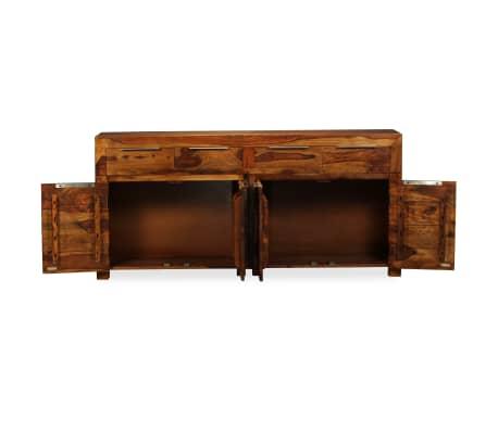 vidaXL Buffet Bois massif de Sesham 160 x 35 x 75 cm[3/12]