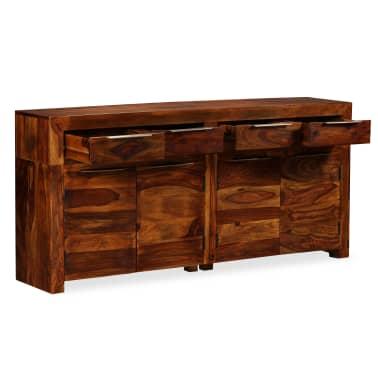 vidaXL Buffet Bois massif de Sesham 160 x 35 x 75 cm[4/12]
