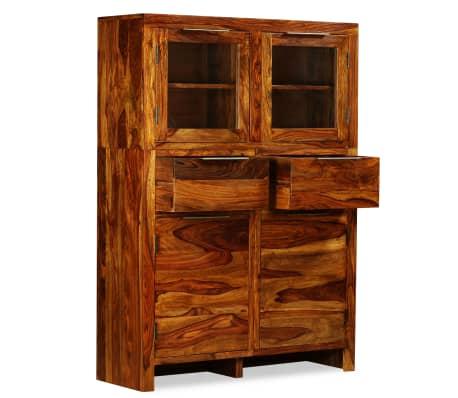 vidaXL Spintelė, tvirta rausvosios dalbergijos mediena, 100x35x140cm[5/14]