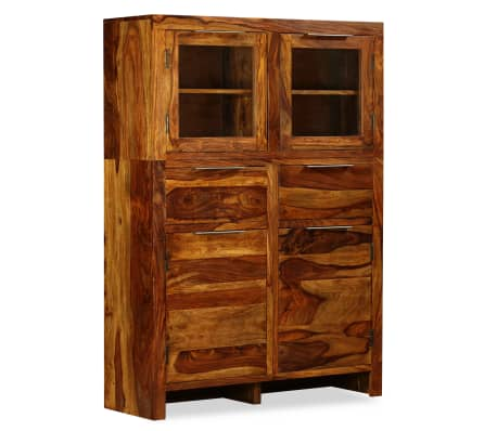 vidaxl sideboard massives sheesham holz 100 35 140 cm g nstig kaufen. Black Bedroom Furniture Sets. Home Design Ideas