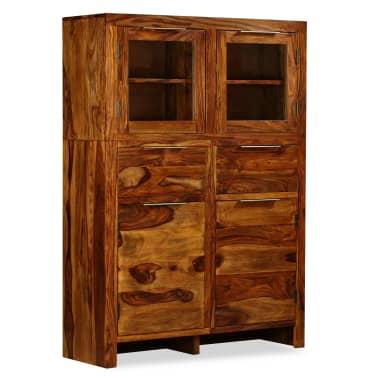 vidaXL Spintelė, tvirta rausvosios dalbergijos mediena, 100x35x140cm[11/14]