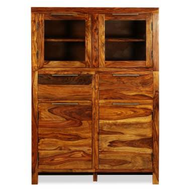 vidaXL Spintelė, tvirta rausvosios dalbergijos mediena, 100x35x140cm[3/14]