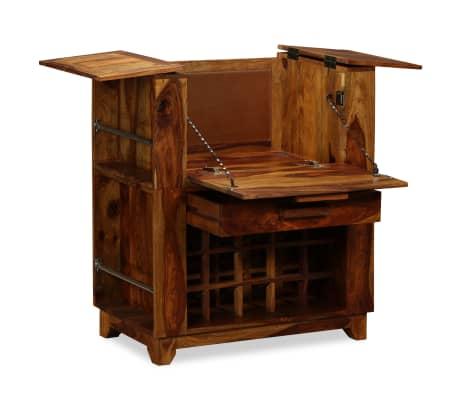 vidaXL Baro spintelė, rausvosios dalbergijos mediena, 85x40x95 cm[2/14]