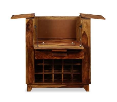 vidaXL Baro spintelė, rausvosios dalbergijos mediena, 85x40x95 cm[3/14]