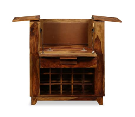 vidaXL Baro spintelė, rausvosios dalbergijos mediena, 85x40x95 cm[4/14]