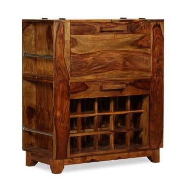 vidaXL Baro spintelė, rausvosios dalbergijos mediena, 85x40x95 cm[11/14]