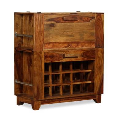 vidaXL Baro spintelė, rausvosios dalbergijos mediena, 85x40x95 cm[13/14]