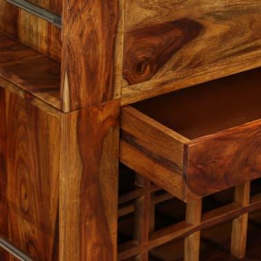 vidaXL Baro spintelė, rausvosios dalbergijos mediena, 85x40x95 cm[6/14]
