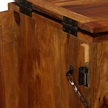 vidaXL Baro spintelė, rausvosios dalbergijos mediena, 85x40x95 cm[8/14]
