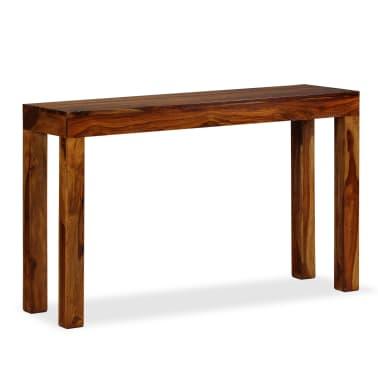 vidaXL Table console Bois massif de Sesham 120 x 35 x 75 cm[1/13]