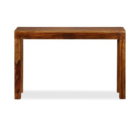 vidaXL Table console Bois massif de Sesham 120 x 35 x 75 cm[2/13]