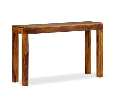 vidaXL Table console Bois massif de Sesham 120 x 35 x 75 cm[11/13]