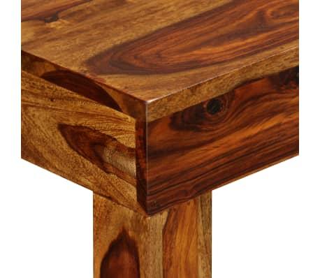 vidaXL Table console Bois massif de Sesham 120 x 35 x 75 cm[3/13]