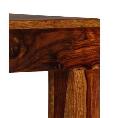 vidaXL Table console Bois massif de Sesham 120 x 35 x 75 cm[5/13]