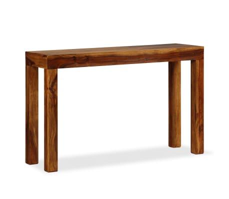 vidaXL Table console Bois massif de Sesham 120 x 35 x 75 cm[9/13]