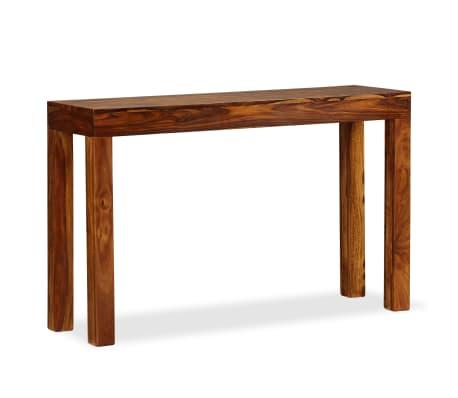 vidaXL Table console Bois massif de Sesham 120 x 35 x 75 cm[10/13]