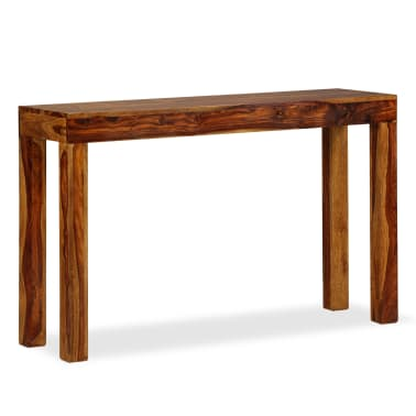 vidaXL Table console Bois massif de Sesham 120 x 35 x 75 cm[13/13]