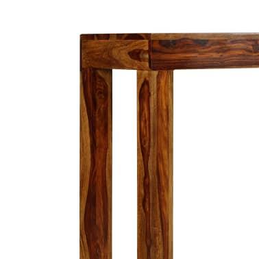 vidaXL Table console Bois massif de Sesham 120 x 35 x 75 cm[4/13]