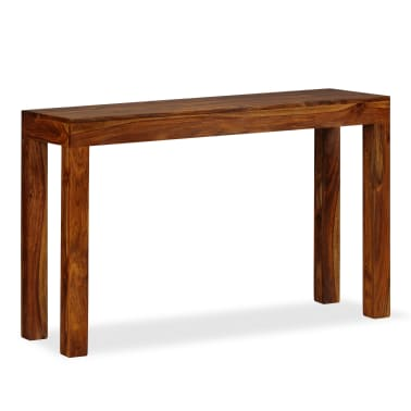 vidaXL Table console Bois massif de Sesham 120 x 35 x 75 cm[8/13]