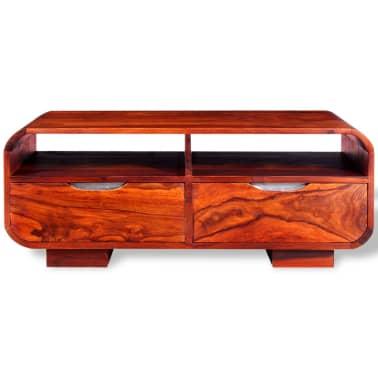 vidaXL Table basse Bois massif de Sesham 90 x 40 x 35 cm[6/11]
