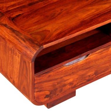 vidaXL Table basse Bois massif de Sesham 90 x 40 x 35 cm[8/11]