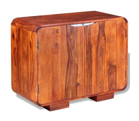 vidaXL Spintelė, tvirta rausvosios dalbergijos mediena, 75x35x60 cm
