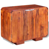 vidaXL Sideboard Massives Sheesham-Holz 75 x 35 x 60 cm