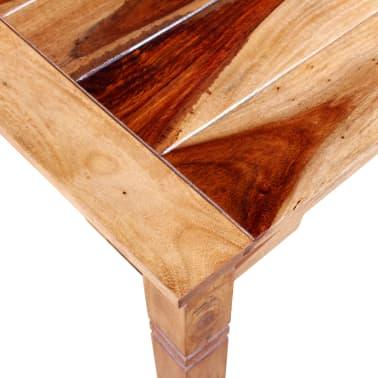 vidaXL Valgomojo stalas, masyvi raus. dalberg. mediena, 82x60x76 cm[7/8]