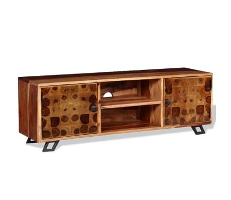 vidaXL tömör kelet-indiai rózsafa TV-szekrény 120 x 30 x 40 cm[5/11]