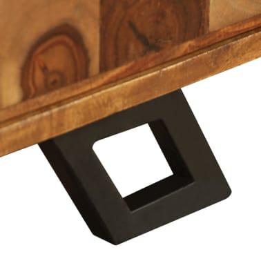 vidaXL TV spintelė, tvirta rausvosios dalbergijos mediena, 120x30x40cm[10/11]
