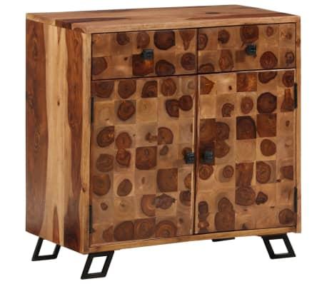 vidaXL Spintelė, tvirta rausvosios dalbergijos mediena, 65x35x65cm[1/10]