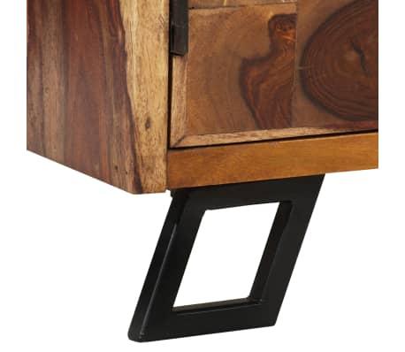 vidaXL Spintelė, tvirta rausvosios dalbergijos mediena, 65x35x65cm[8/10]