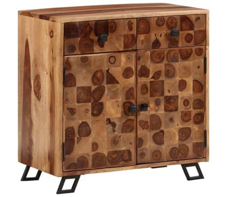 vidaXL Spintelė, tvirta rausvosios dalbergijos mediena, 65x35x65cm[10/10]