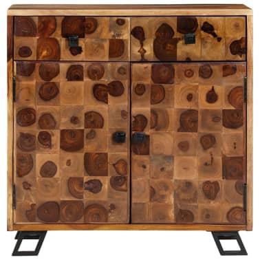 vidaXL Spintelė, tvirta rausvosios dalbergijos mediena, 65x35x65cm[2/10]