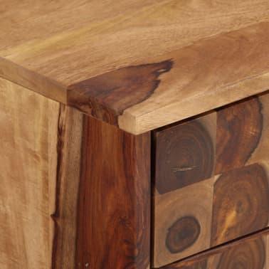 vidaXL Spintelė, tvirta rausvosios dalbergijos mediena, 65x35x65cm[7/10]