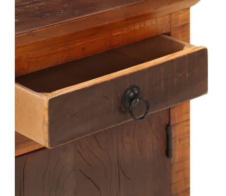 vidaXL Naktinis staliukas, masyvi akacijos ir pabėgių mediena[9/10]
