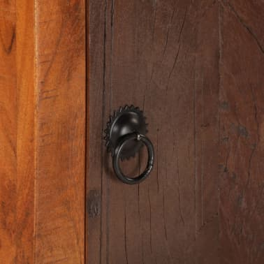 vidaXL Nightstand Solid Acacia Sleeper Wood[10/10]