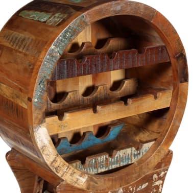 vidaXL Wine Rack for 10 Bottles Solid Reclaimed Wood[4/10]