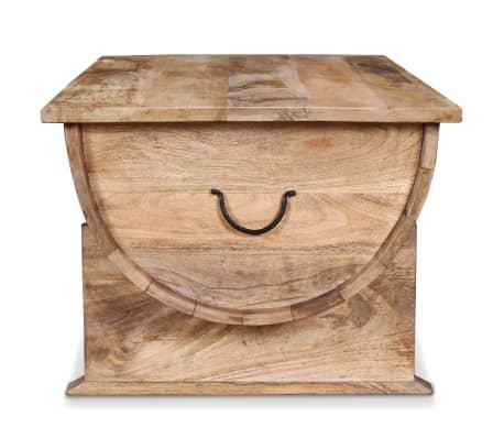 """vidaXL Coffee Table Solid Mango Wood 34.6""""x19.7""""x15.7""""[8/14]"""