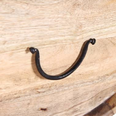 """vidaXL Coffee Table Solid Mango Wood 34.6""""x19.7""""x15.7""""[13/14]"""