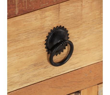acheter vidaxl table basse bois de r cup ration 70 x 70 x 38 cm pas cher. Black Bedroom Furniture Sets. Home Design Ideas