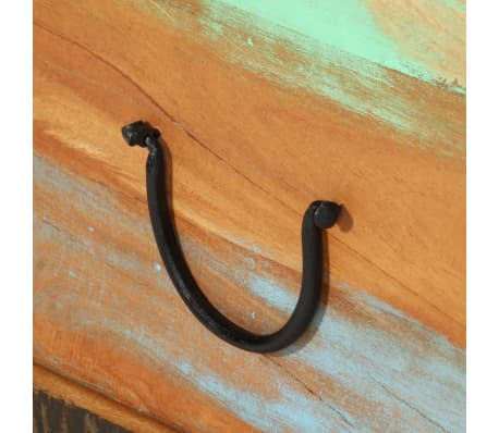 vidaXL Kavos staliukas, perdirbta mediena, 70x70x38cm[7/13]