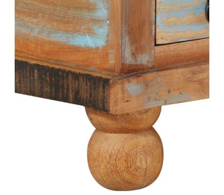 vidaXL Kavos staliukas, perdirbta mediena, 70x70x38cm[8/13]