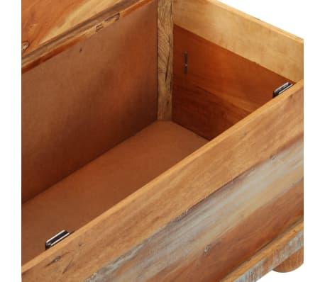 vidaXL Kavos staliukas, perdirbta mediena, 70x70x38cm[10/13]
