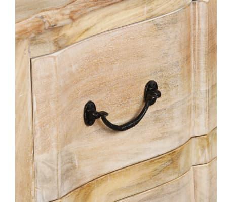 acheter vidaxl buffet bois de manguier massif 200 x 40 x 90 cm pas cher. Black Bedroom Furniture Sets. Home Design Ideas