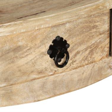 vidaXL Wandtafel 120x50x80 cm massief mangohout[8/11]
