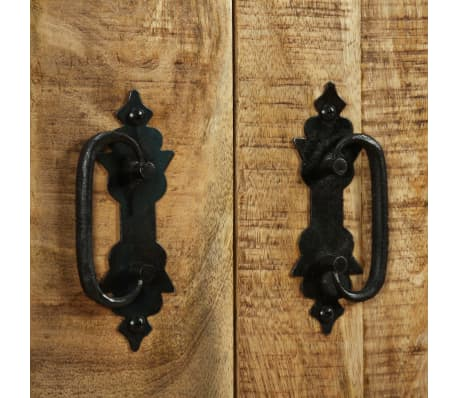 vidaXL Buffet avec 2 tiroirs et 1 armoire Bois de manguier brut[9/12]
